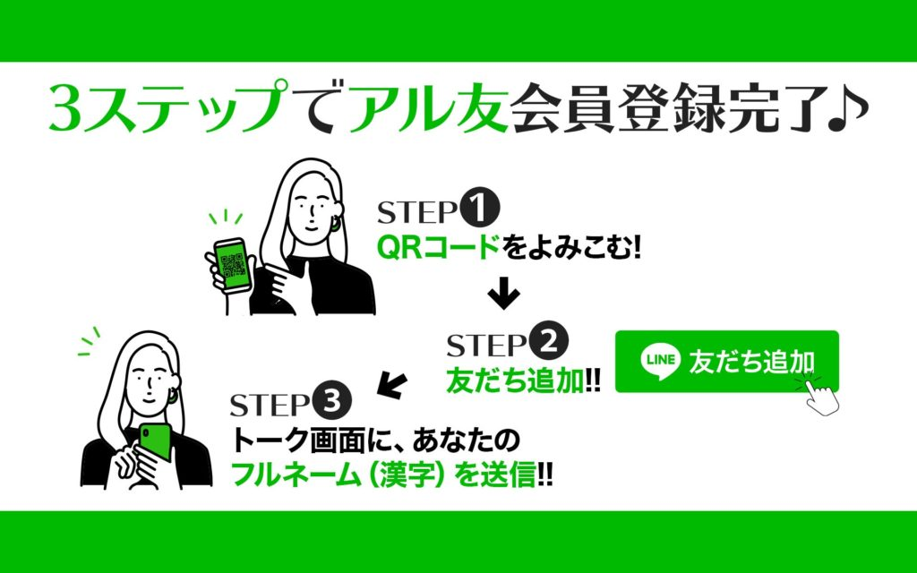 LINE会員獲得オリジナル広告